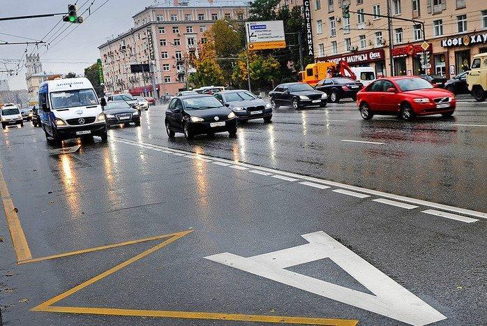 В Москве стало на четыре автобусные полосы больше