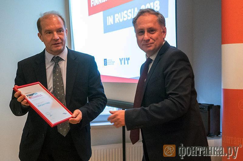 Nokian Tyres вошла в Топ-30 самых влиятельных финских компаний в России