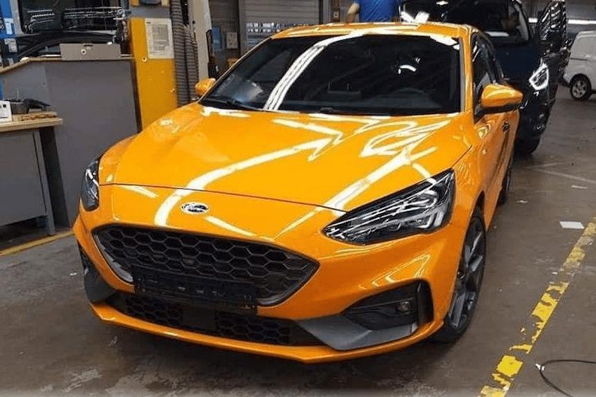 Фотошпионы заметили Ford Focus ST
