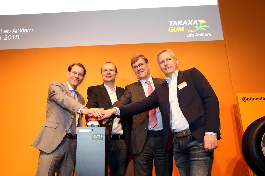 Continental официально открыл лабораторию Taraxagum Lab Anklam в Германии