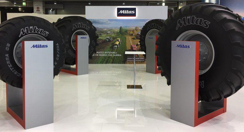 Mitas будет эксклюзивным поставщиком шин для всей сельхозтехники AGCO