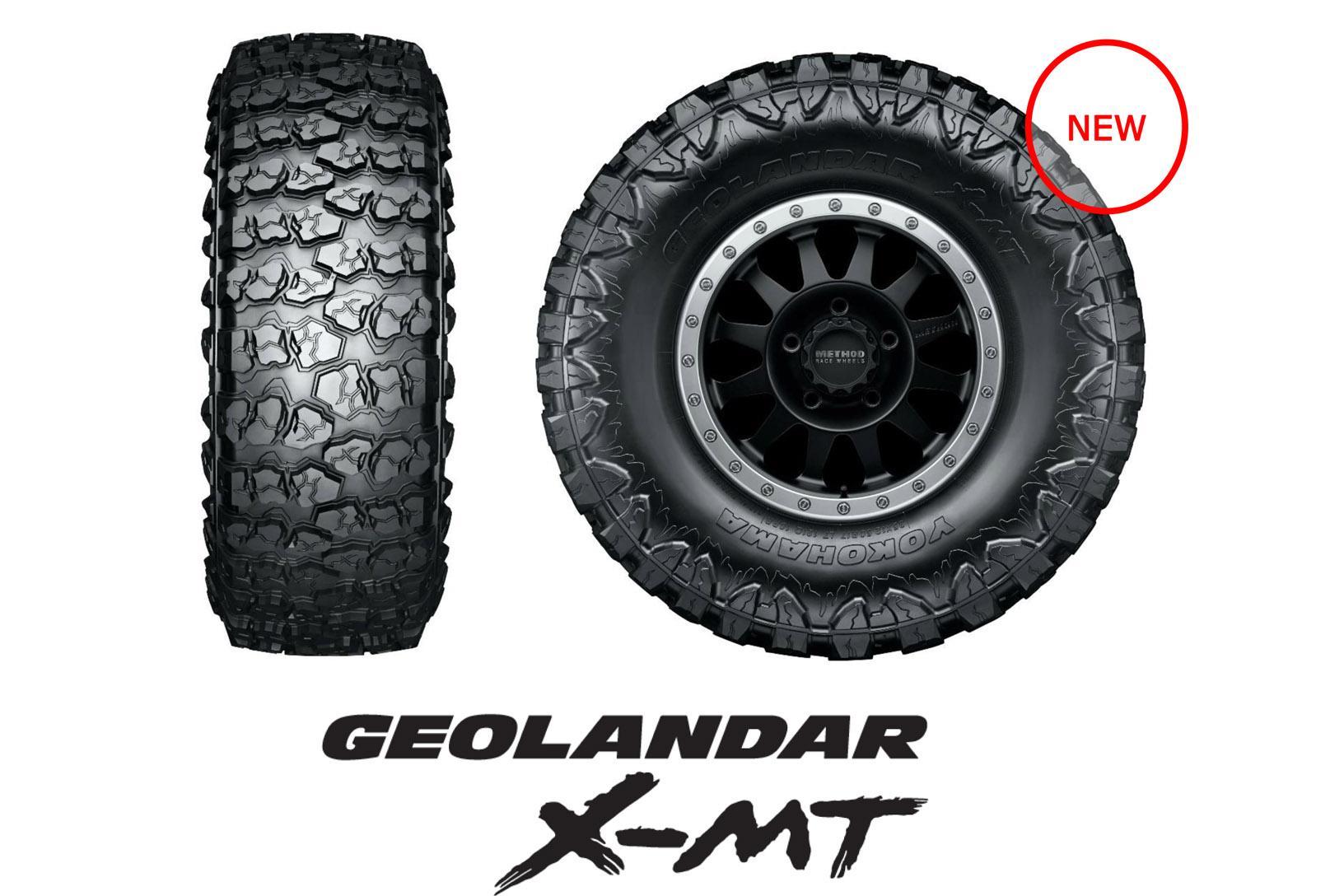 Yokohama представляет в России шину Geolandar X-MT G005 для офф-роуда