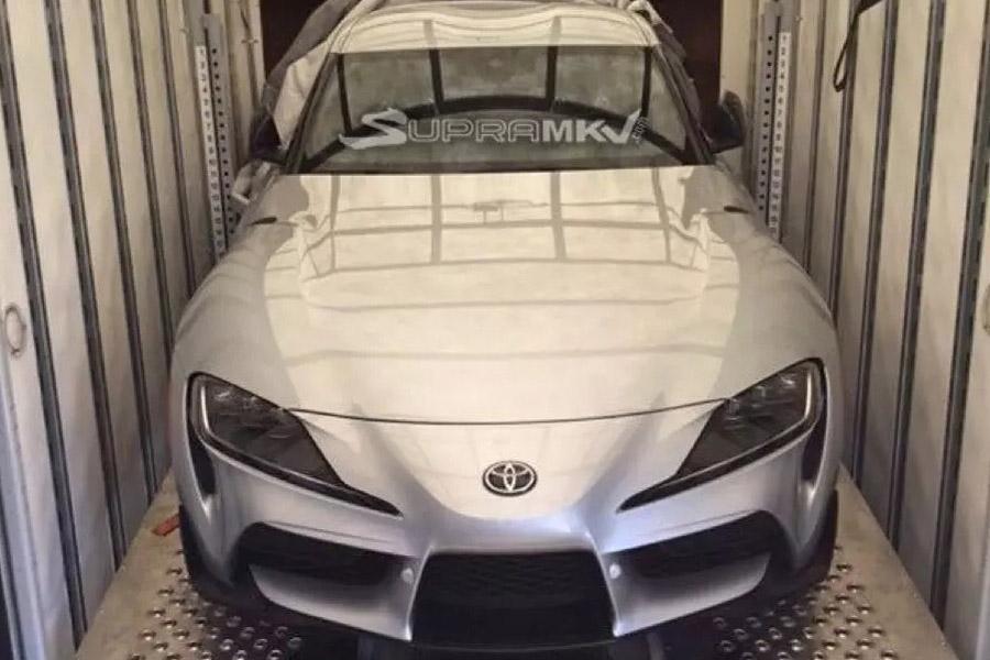 Toyota Supra: новое фото серийной машины