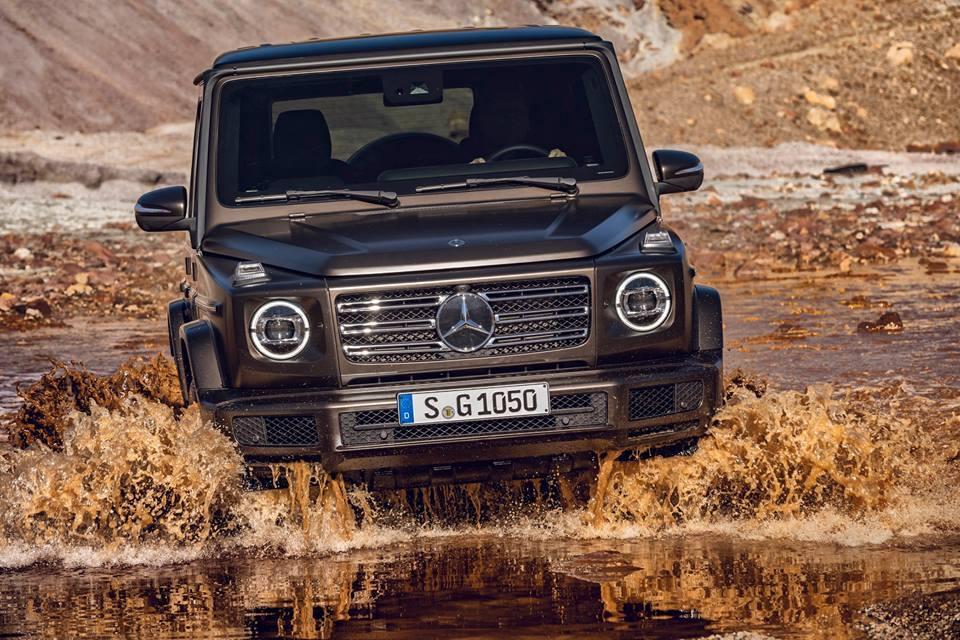 Kumho будет поставлять свои шины для оснащения новых Mercedes-Benz G-Class
