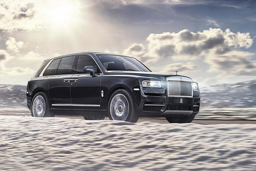 Rolls-Royce Cullinan начали поставлять в Россию