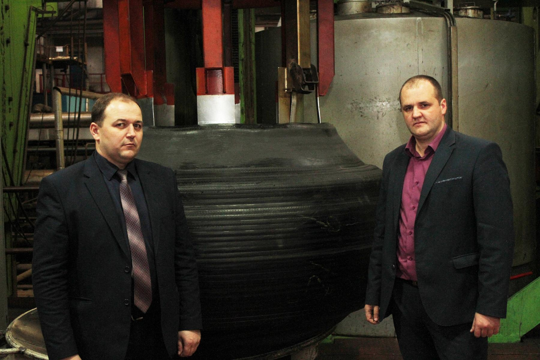 На «Белшине» продолжается модернизация производства крупногабаритных шин