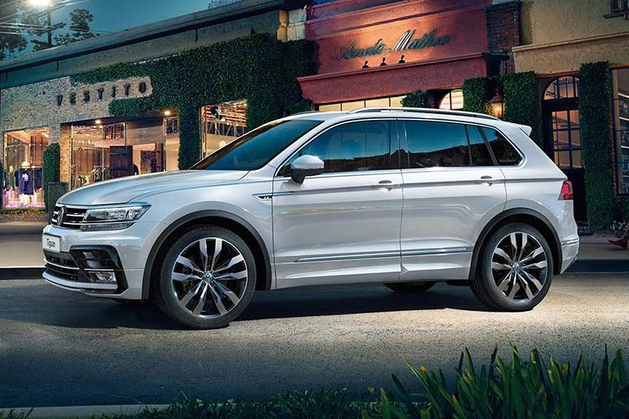 Volkswagen отзывает «Тигуаны» с панорамной крышей