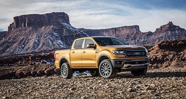 Hankook Tire обует новые пикапы Ford Ranger 2019 в шины линейки Dynapro