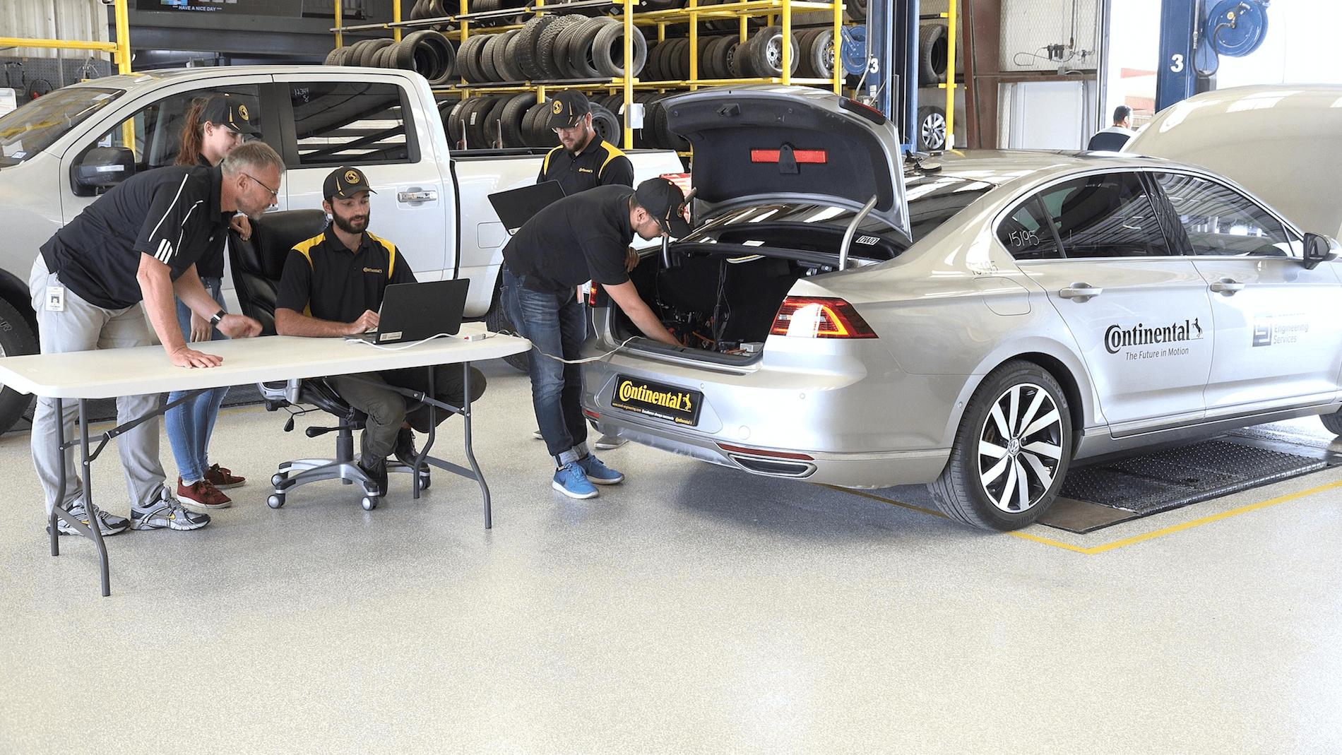 Continental начала тестировать шины при помощи беспилотных автомобилей