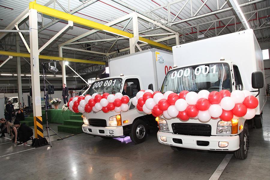 На «Автоторе» начали собирать две грузовые новинки Hyundai