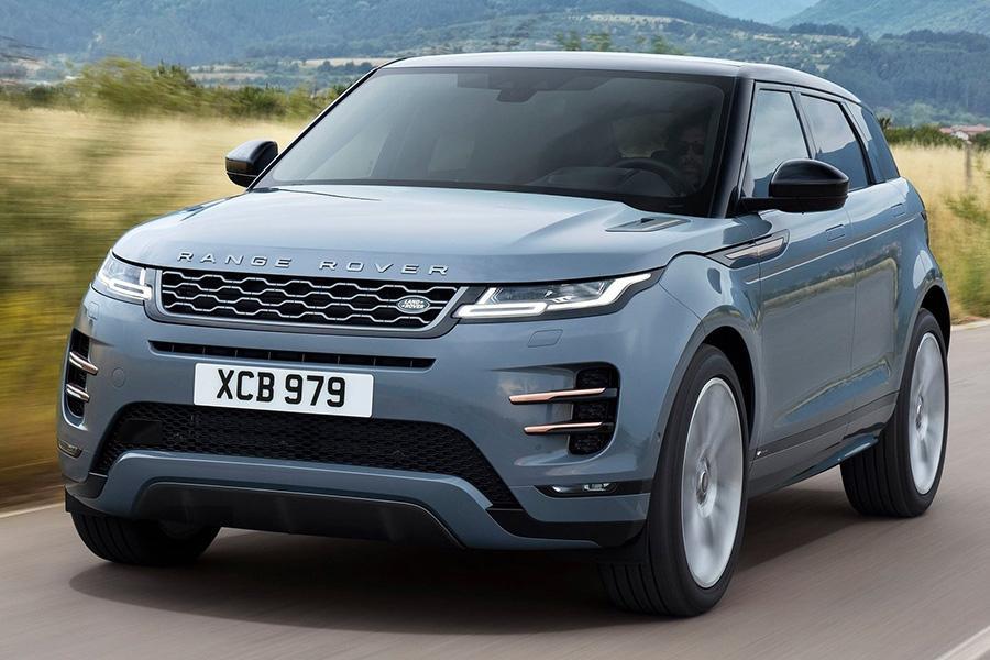 Стала известна стартовая цена на новый Range Rover Evoque