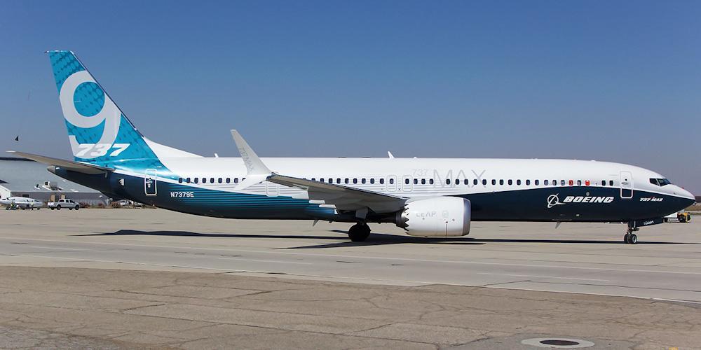 Boeing сертифицировала шины Bridgestone для самолетов Boeing 737 MAX 9