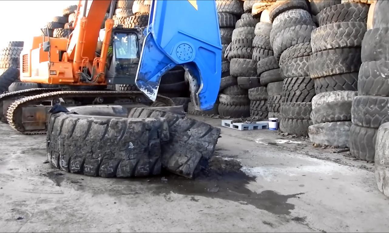 В ТОСЭР «Новокузнецк» построят завод по переработке крупногабаритных шин