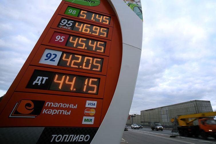 Бензин снова начал дорожать