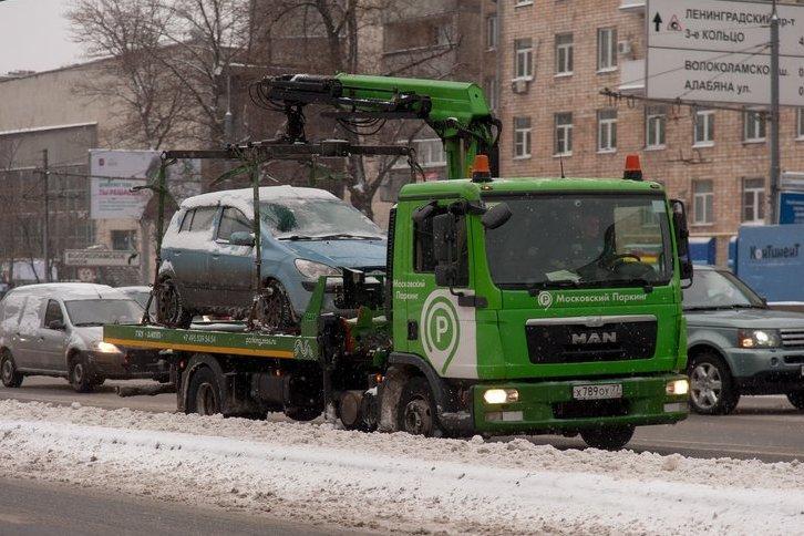 В Москве подорожала эвакуация
