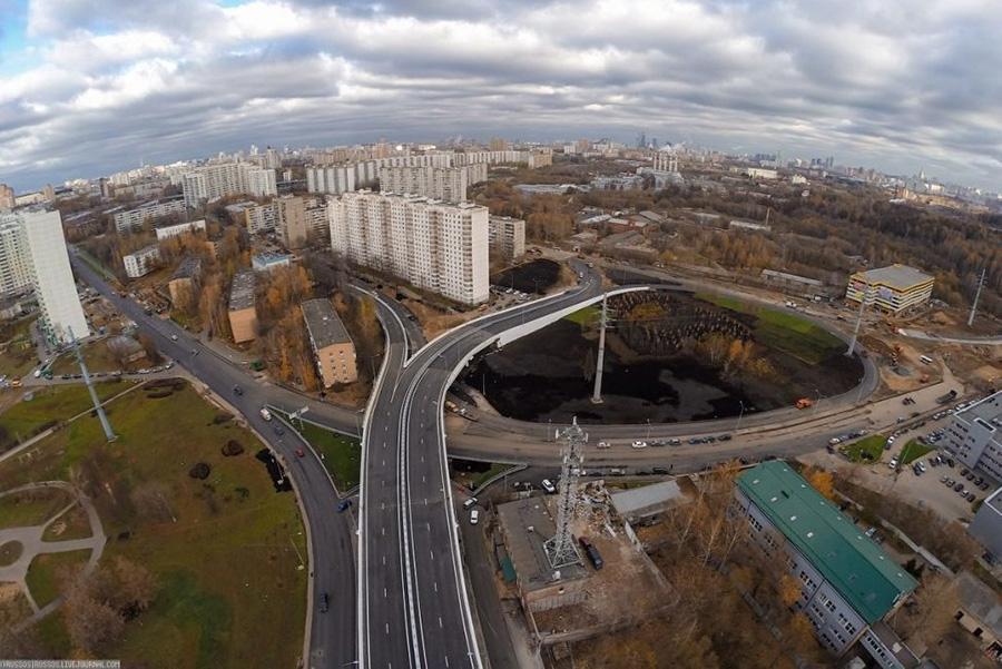 Москва продолжит строить дороги рекордными темпами