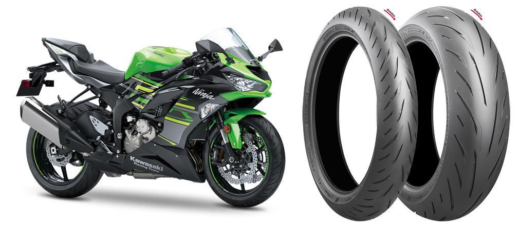 Bridgestone Battlax выбраны для оригинальной комплектации Kawasaki Ninja ZX-6R