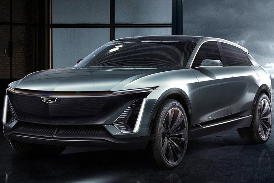 Автосалон в Детройте 2019: Cadillac EV Concept