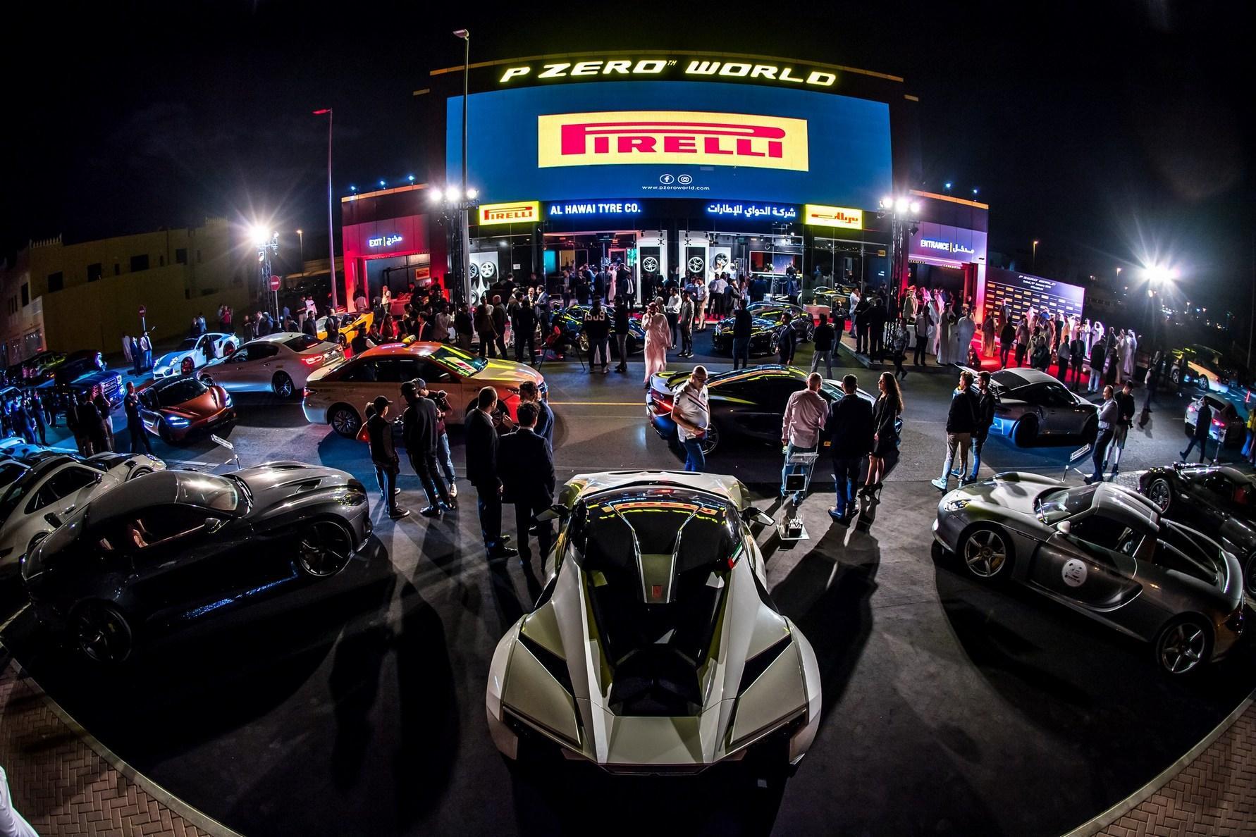 Пирелли открыла фирменный шинный бутик P Zero World в Дубае