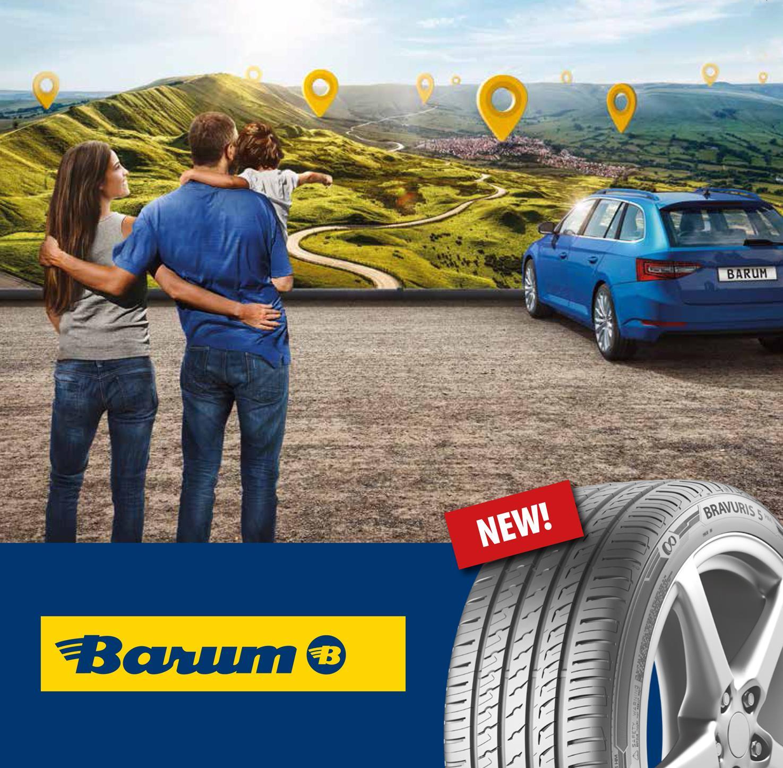 Barum запускает новую летнюю модель Bravuris 5HM для пассажирских автомобилей