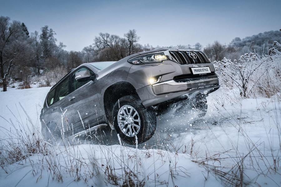 Land Cruiser Prado представили в России в новой комплектации
