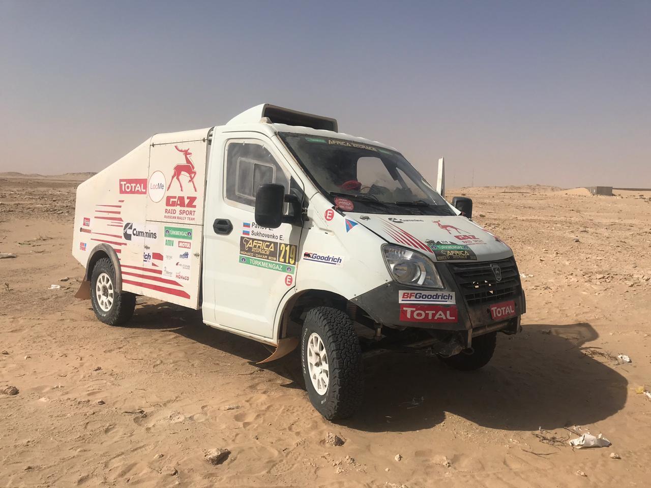Шины BFGoodrich помогли команде «Газ Рейд Спорт» дебютировать в ралли Africa Eco Race