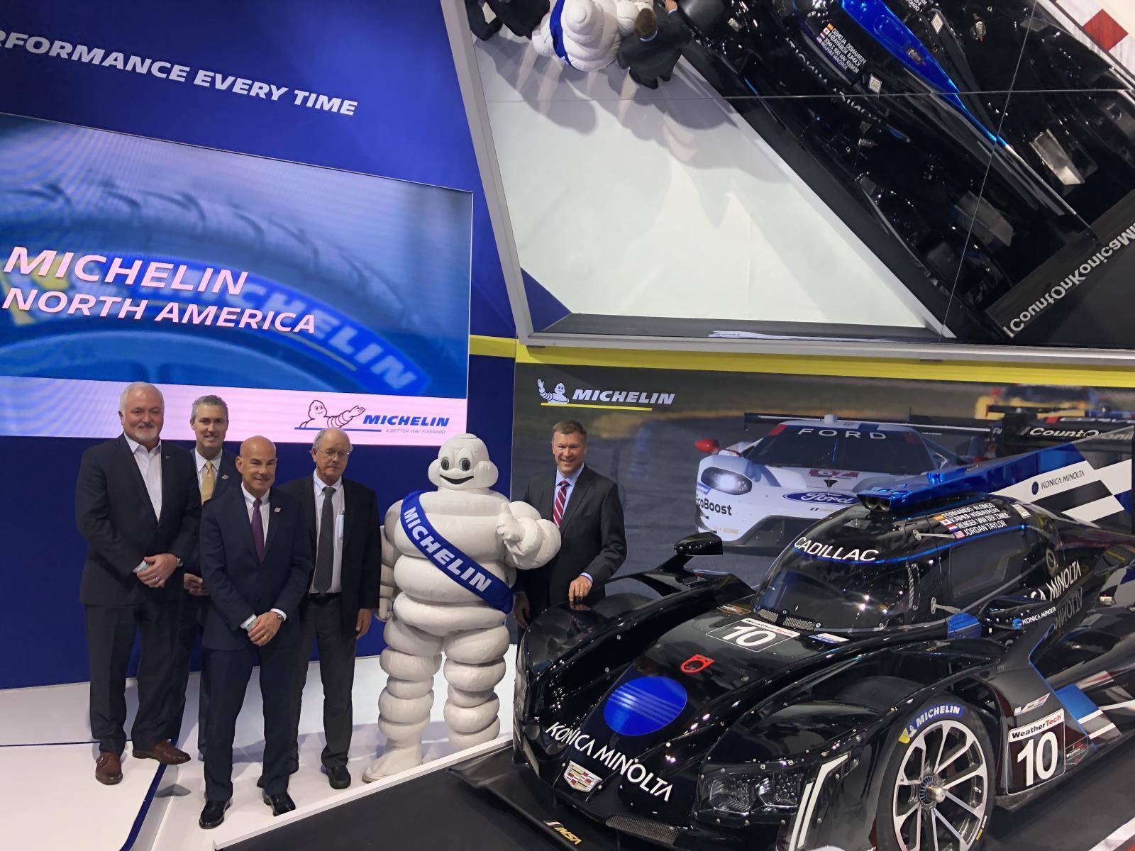 Michelin расширяет партнерство с усталостной серией IMSA