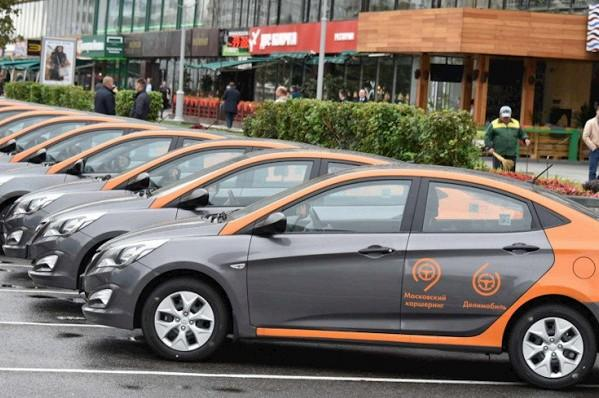 Парк каршеринга в Москве превысил 16 000 машин