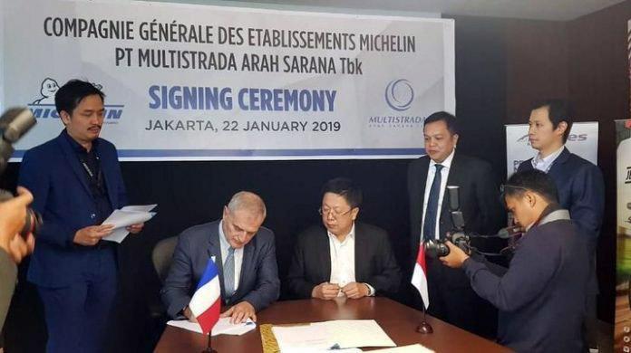 Michelin покупает индонезийскую Multistrada за $439 млн