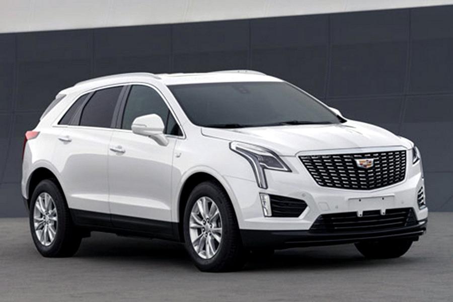 Рестайлинговый Cadillac XT5 рассекретили в Китае