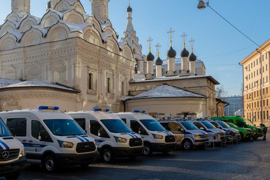 Москва получила новые комплексы для разбора сложных ДТП