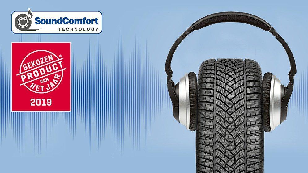 Технология Goodyear SoundComfort удостоена премии Gekozen Product van het Jaar 2019