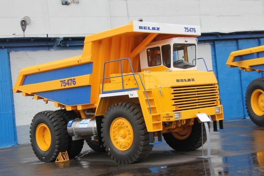 БЕЛАЗ акцентирует производство на газовых машинах