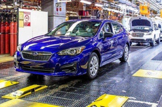 Японский завод Subaru возобновил работу