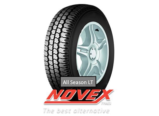Ассортимент шин бренда Novex пополнился новой коммерческой всесезонкой