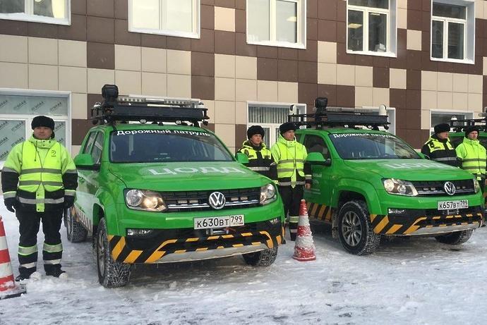 ЦОДД увеличил количество машин дорожного патруля