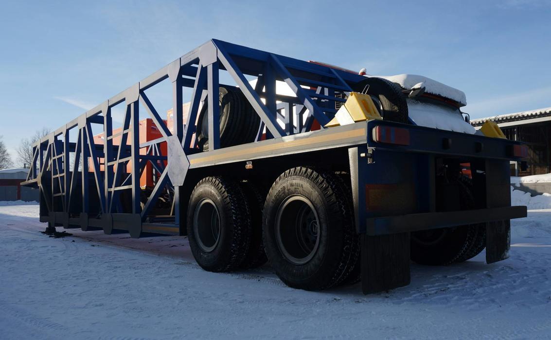 Угольщики Кузбасса получили еще один уникальный шиновоз