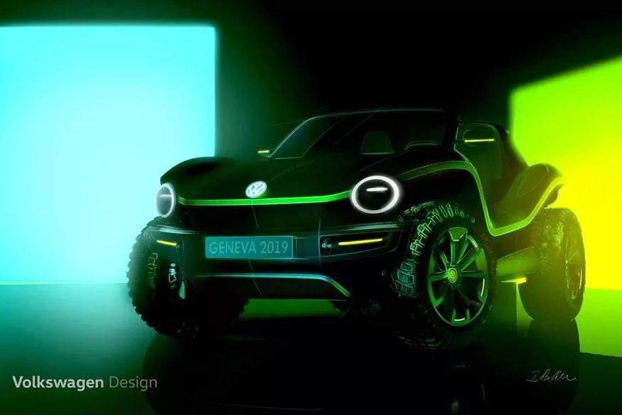 Volkswagen покажет в Женеве багги
