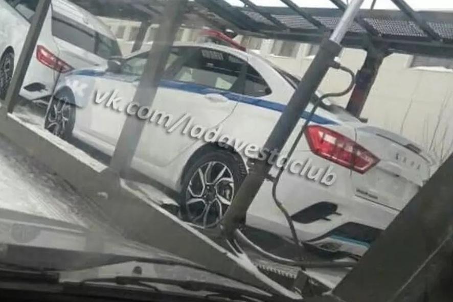 Lada Vesta Sport будет служить в полиции