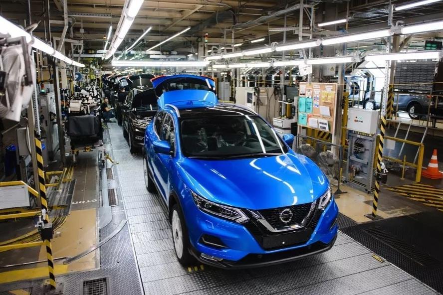 Обновленный Nissan Qashqai встал на конвейер в Санкт-Петербурге