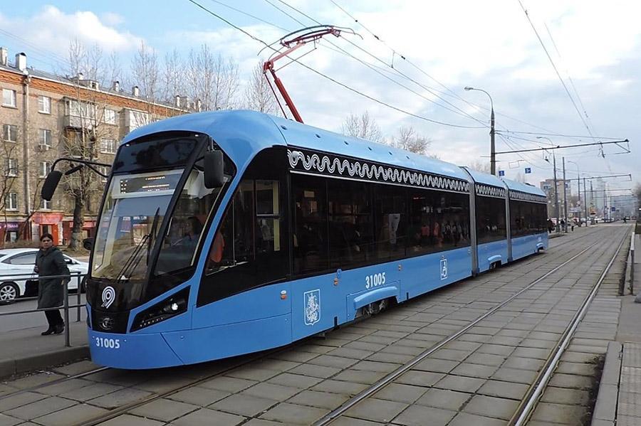 В столице начинают тестировать беспилотный трамвай