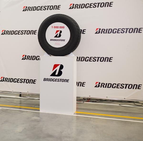 Завод Bridgestone в Ульяновске выпустил миллионную шину