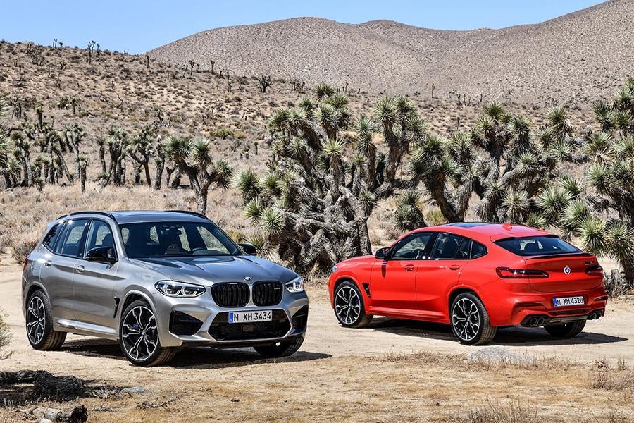 У BMW вышли заряженные кроссоверы X3 M и X4 M