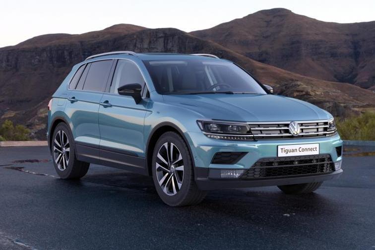 Volkswagen Tiguan «подключили» к смартфону