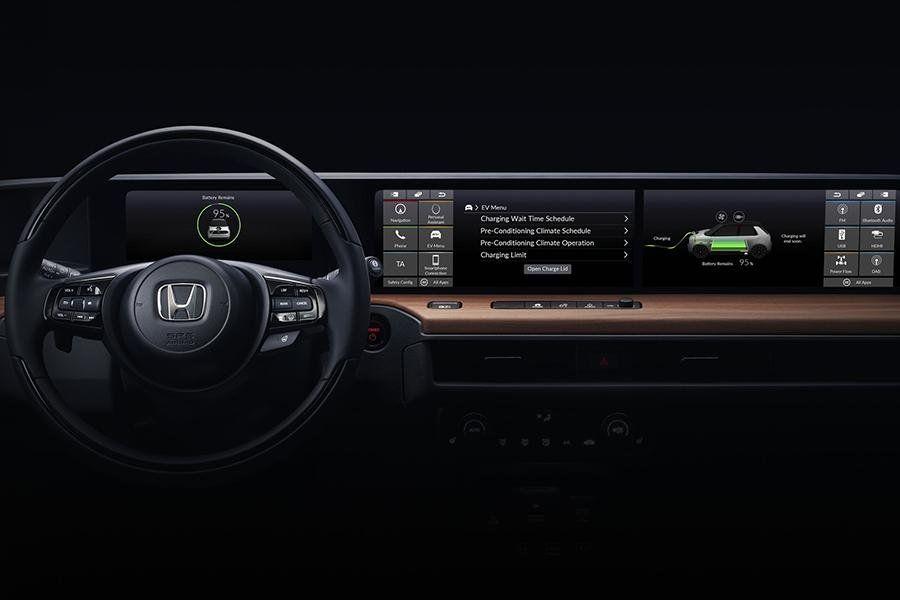 Электрическая Honda удивит интерьером