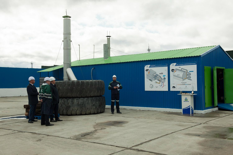 В ТОСЭР «Новокузнецк» появится еще один переработчик крупногабаритных шин