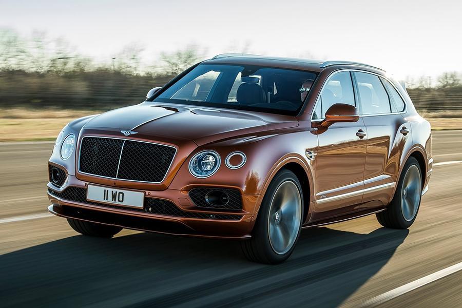 Bentley Bentayga стал мощнее и быстрее