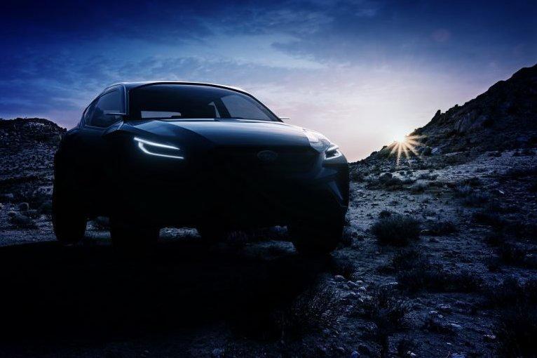 Subaru готовит к Женеве новый кроссовер