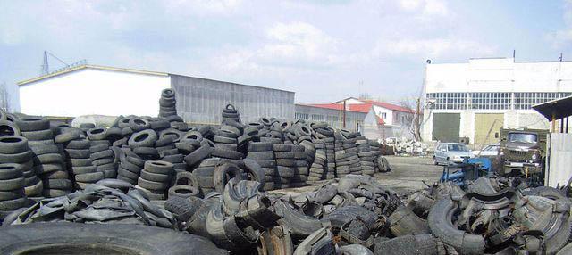 В Саранске успешно решают проблему утилизации отработанных покрышек