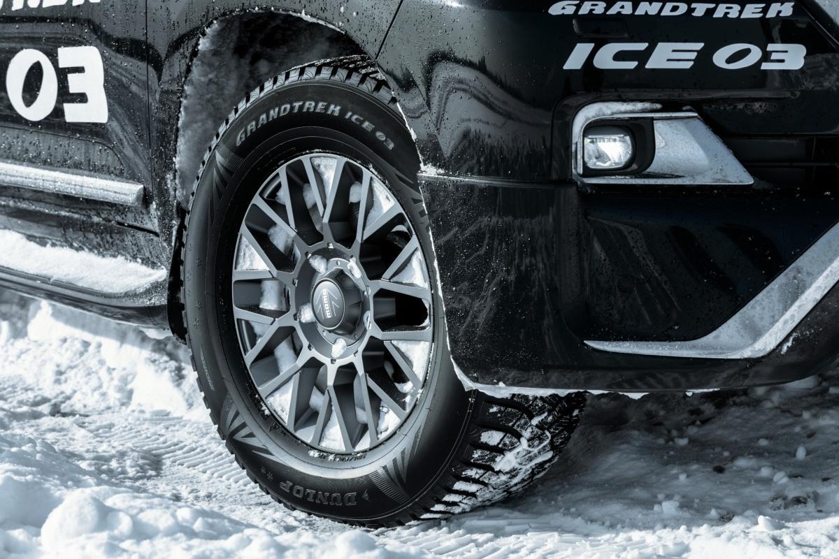 На Урале прошла презентация новых зимних шин Dunlop